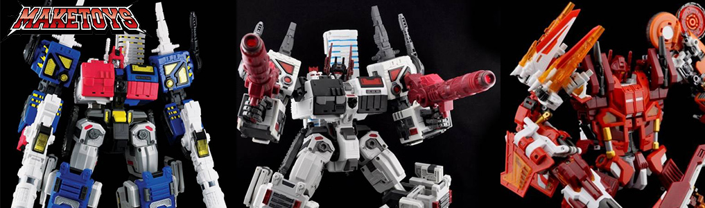 Make Toys Citybots on TFSource!Quantron, Utopia, Dystopia and more available with massive size and ready for destruction!  Shop maketoys on TFSource today!