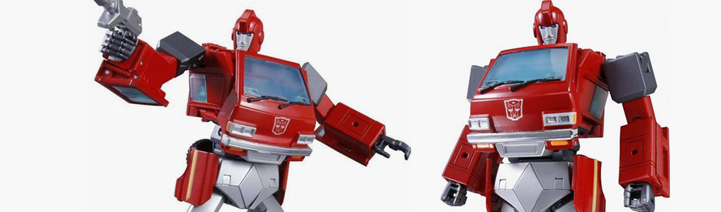 "The long awaited MP-27 Masterpiece Ironhide - Now up for preorder & New Images!Stands an impressive 8.3""/21CM tall in robot mode and can fit in MP-10's Trailer!  Comes with an arsenal of weaponry, preorder this cherry vanette at TFSource today!"
