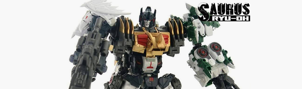 Fansproject's RYU-OH combiner series continues!Fansproject's latest releases: Dino-ichi & Dino-ni are instock and Dino-san and Dino-shi now up for preorder - preorder yours today at TFSource!