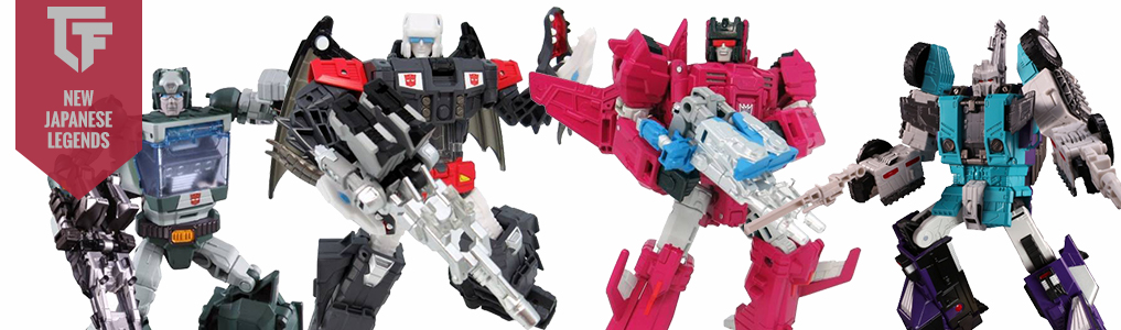 New Japanese Legends Preorders Announced!Including LG52 Misfire, LG53 Broadside, LG51 Double Cross, LG50 Sixshot and more!  Preorder yours at TFSource today!