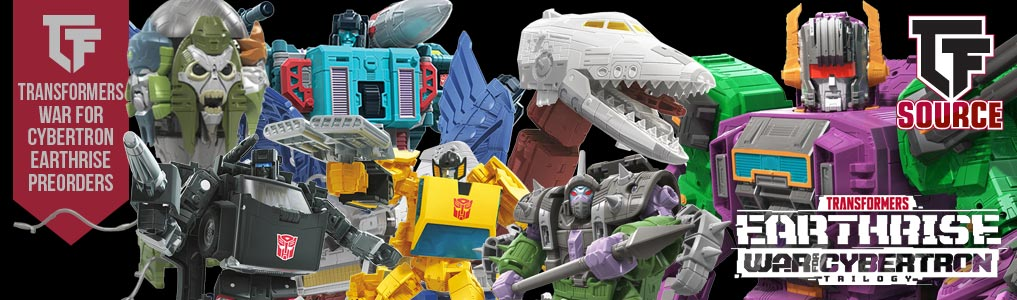 TRANSFORMERS WAR FOR CYBERTRON EARTHRISE REVEALS!