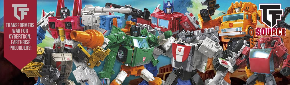 Siege War for Cybertron: Earthrise Preorders Now Up!