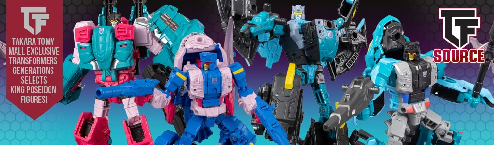 Generations Selects Takara Tomy Mall King Poseidon!