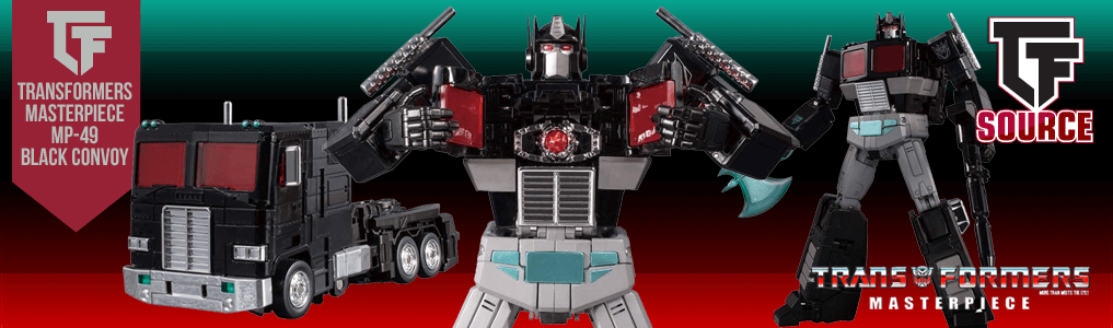Transformers Masterpiece MP-49 Black Convoy up for preorder!