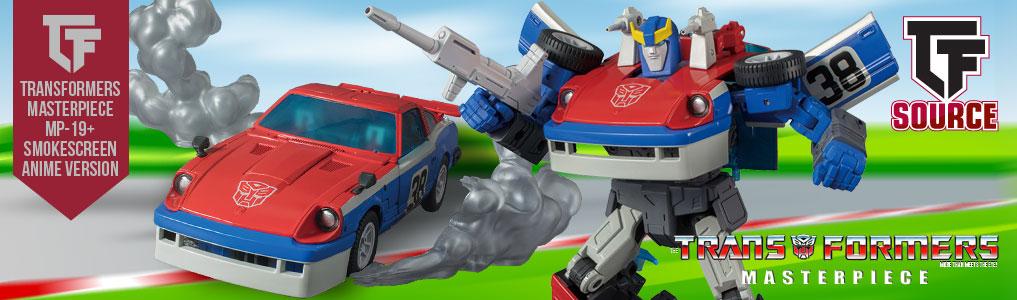 Transformers Masterpiece MP-19+ Smokescreen Anime/Toon Version!