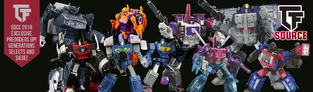 Collectible Transformers Toys and Action Figures | TFSource