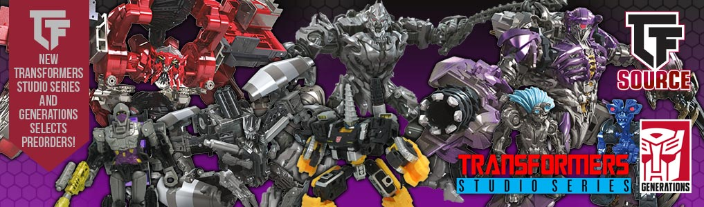 Transformers Generations Selects & Studio Series Preorders Up!