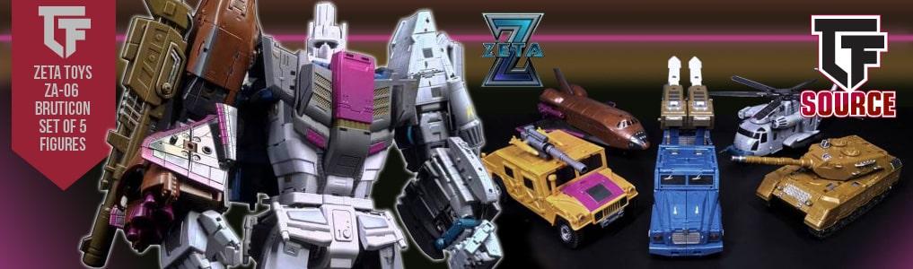 Zeta Toys Massive Bruticon Combiner Now Instock!