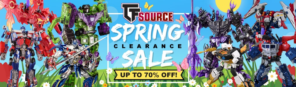 Spring's Hottest Deals! Items up to 70% off!  The TFsource SPRING SALE is now in Full Bloom! Great Deals on over 300+ Items, up to 70% off!