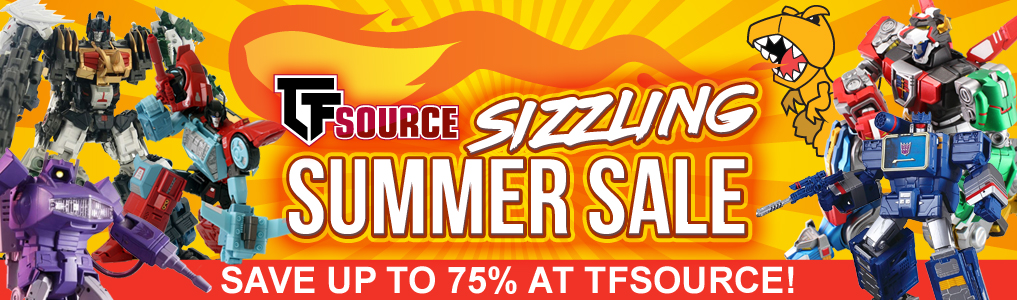 Save BIG on 200+ items at TFSource's Sizzling Summer Sale!Lots of Hot savings to be had with many new sale items added, and more to be added each week.  Check it out!