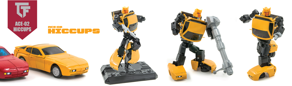 New MP Scaled figures from ACE!Featuring silicon tires, led lights, die-cast parts and scaled perfectly to fit your Masterpiece collection, set to be released soon, preorder yours at TFSource today!
