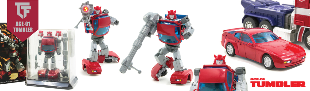 New MP Scaled figures from ACE!Featuring silicon tires, led lights, die-cast parts and scaled perfectly to fit your Masterpiece collection, instock now, order yours at TFSource today!