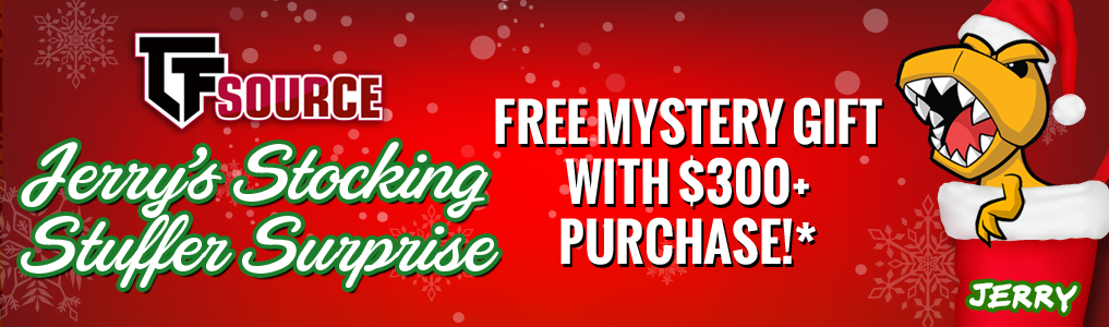 Jerry's Stocking Stuffer Surprise!Starting December 1st receive a FREE Mystery Gift with a $300 purchase! Instock orders must be placed by December 31st to qualify for Jerry's Stocking Stuffer Surprise!