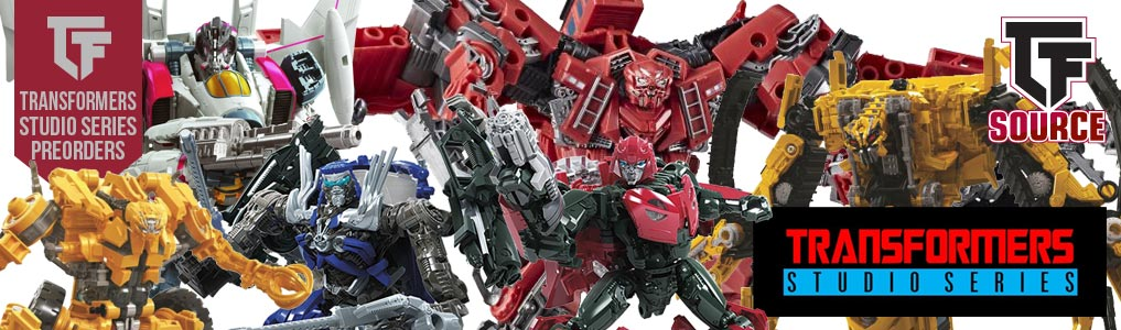 NEW TRANSFORMERS STUDIO SERIES REVEALED!