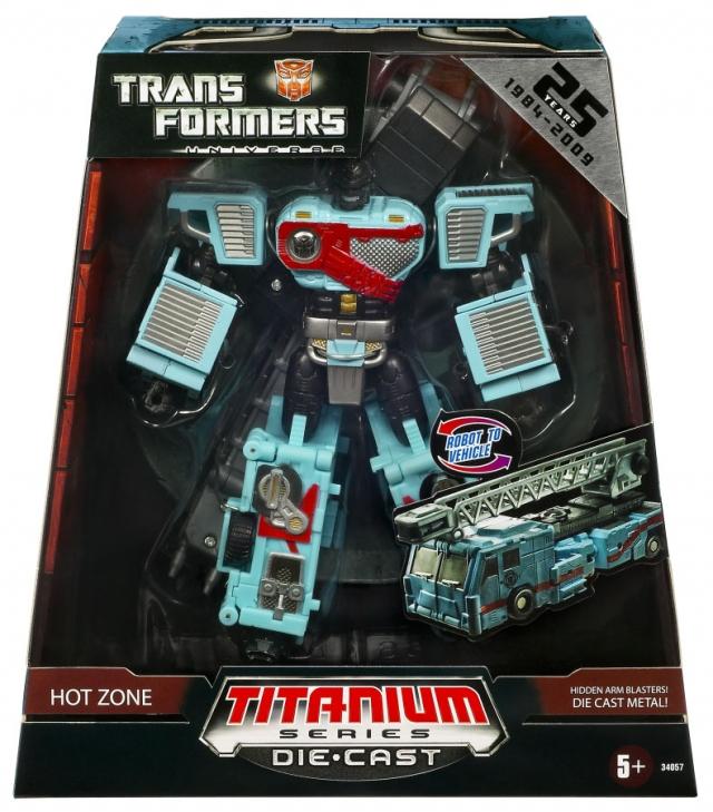 Titanium - Hot Zone - Target Exclusive - MISB