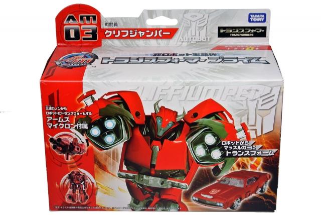 Japanese Transformers Prime - AM-03 - Cliffjumper - MISB
