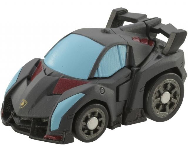 Transformers Q - QT32 Black Megatron