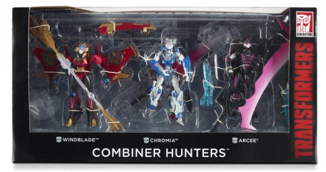 SDCC 2015 - Combiner Hunters 3-pack - MISB