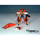Galaxy Force - Loose - GD-05 Gasket Ransack - 100% Complete