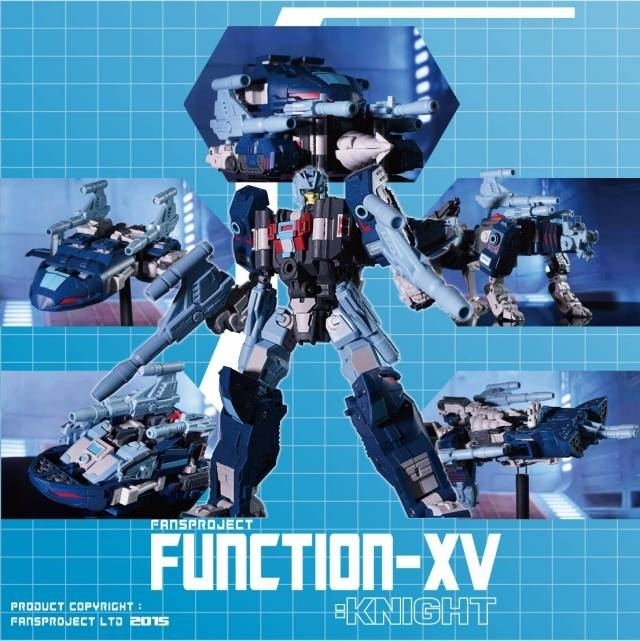 Fansproject - Function X-6 Knight - Asia Exclusive - MIB