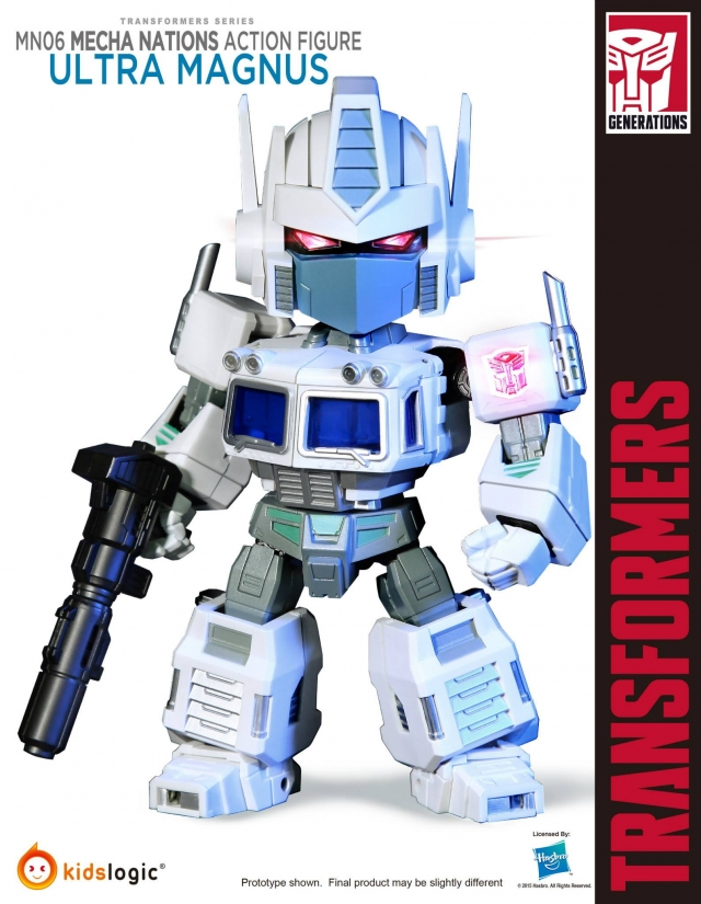 Kids logic - MN-06 Mecha Nations Ultra Magnus