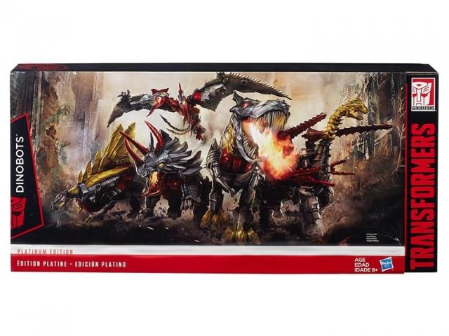 Transformers Age of Extinction - Platinum Edition - Dinobots Set of 5