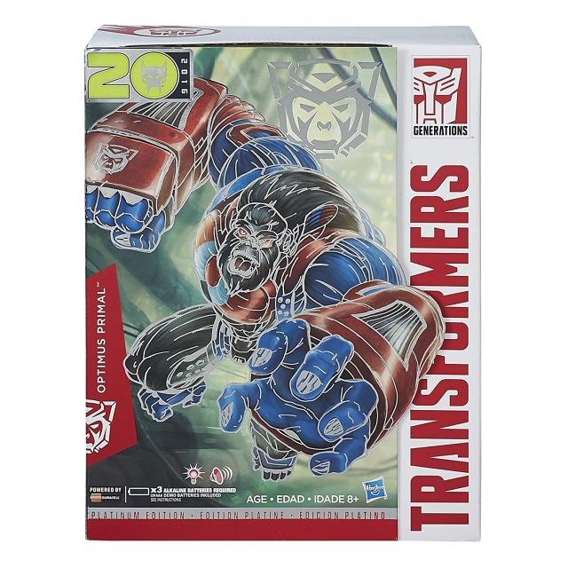 Hasbro Platinum Edition Year of the Monkey Optimus Primal