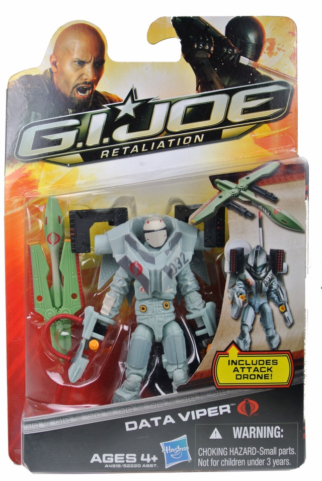 GIJoe - Retaliation - Data Viper