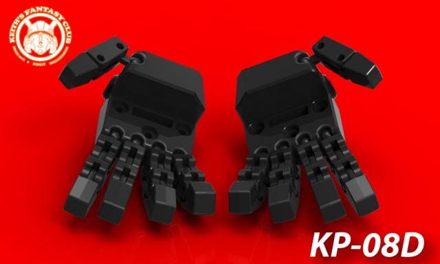 KFC - KP-08D Posable Hands For MP-31 Delta Magnus
