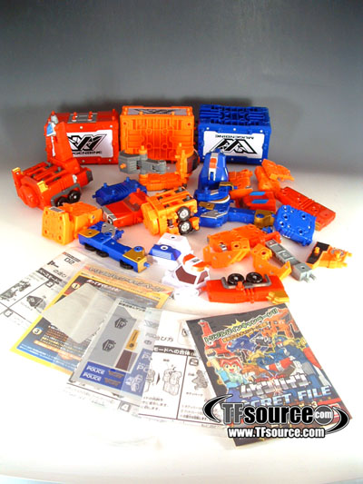 Machine Robo Mugenbine - Miscellaneous Lot