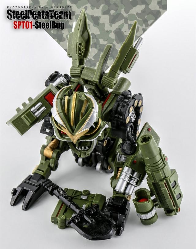 Steel Pests Team - SPT01 - Steel Bug