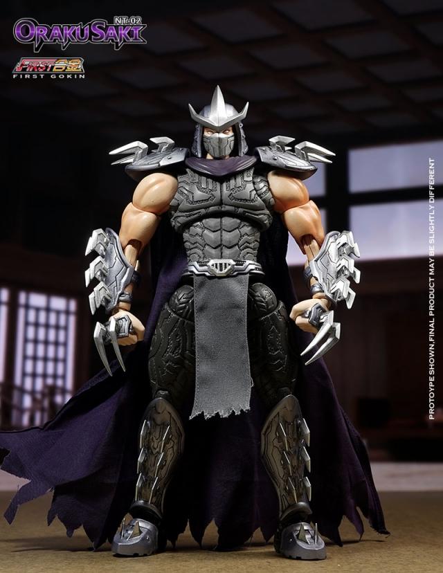 First Gokin - NT02 Oraku Saki (Shredder) - Early Bird Price