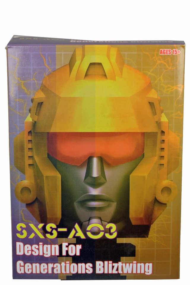 SXS - A-03 Voyager Blitzwing Replacement Head and Weapons - MIB