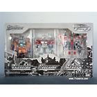 Galaxy Force - TV Magazine Crystal Convoy, Megatron, Starscream 3 piece set - MISB