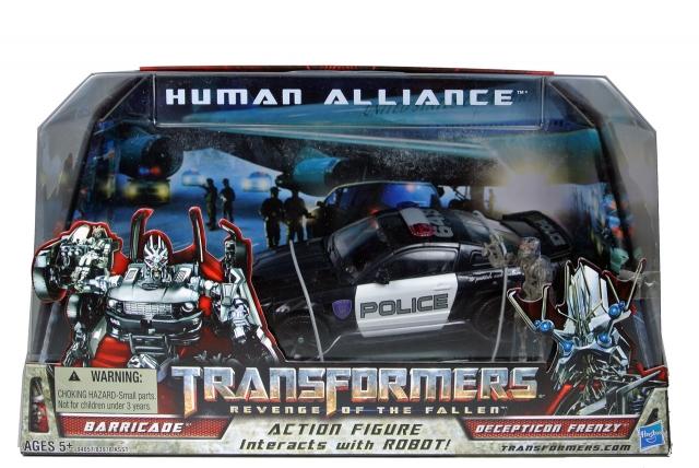 ROTF - Human Alliance Barricade - MISB