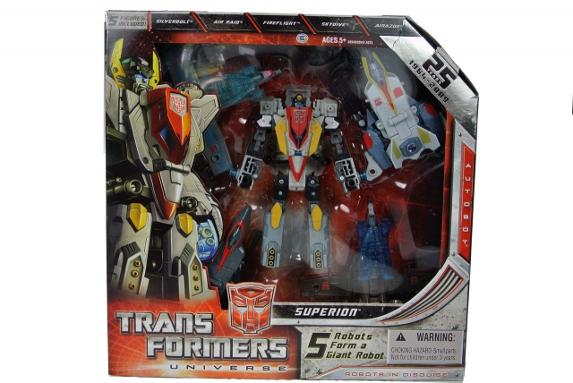 Transformers Universe  - Superion - MIB