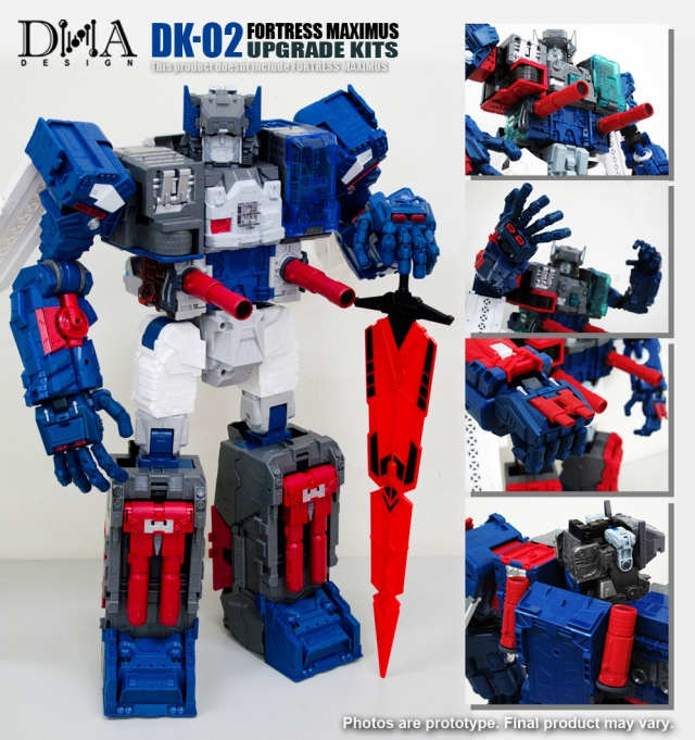 DNA Design - DK-02 - Fortress Maximus Upgrade Kit