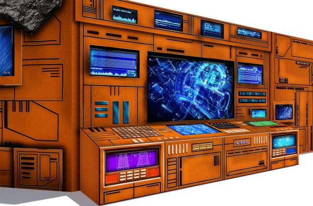 Extreme Sets - Pop-Up Diorama - Control Center Set