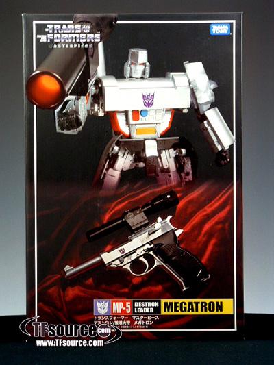 MP-05 Masterpiece Megatron - MISB