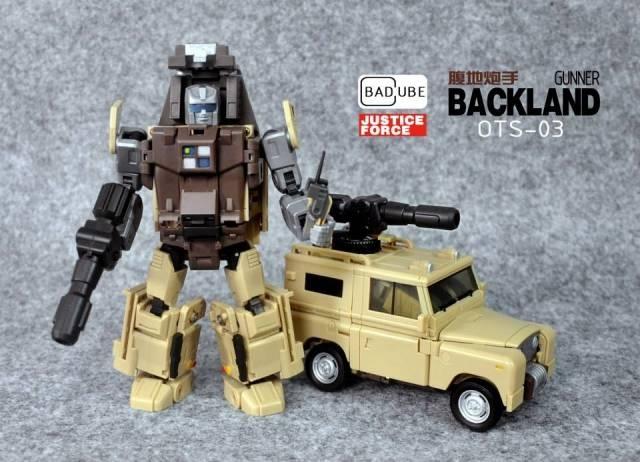 Badcube - Old Time Series - OTS-03 Backland - MIB