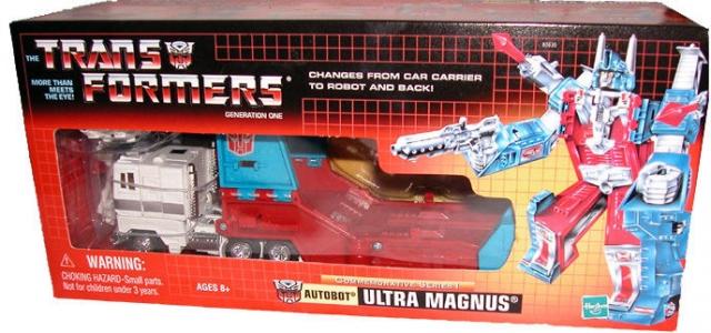 compras de moda online Reedición Reedición Reedición conmemorativa Serie Ultra Magnus-G1 Hasbro Transformers  Precio al por mayor y calidad confiable.