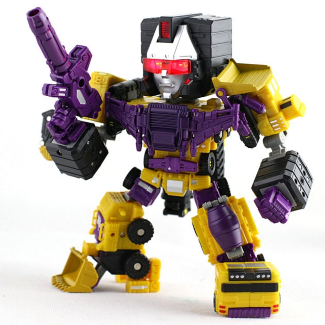 TFC Toys - PS-03Y - HerQules - SP ver. - Limited Edition Yellow Version
