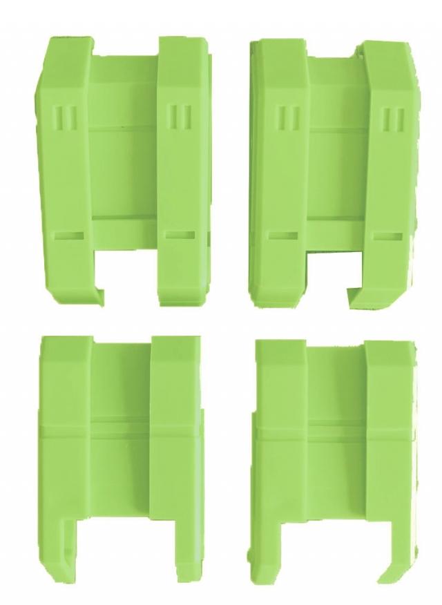 ToyWorld - Constructor - Upper Leg Kit - Green Version
