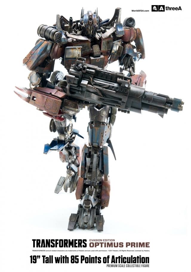 ThreeA - Transformers Age of Extinction - Optimus Prime Evasion Version - 19'' Premium Figure