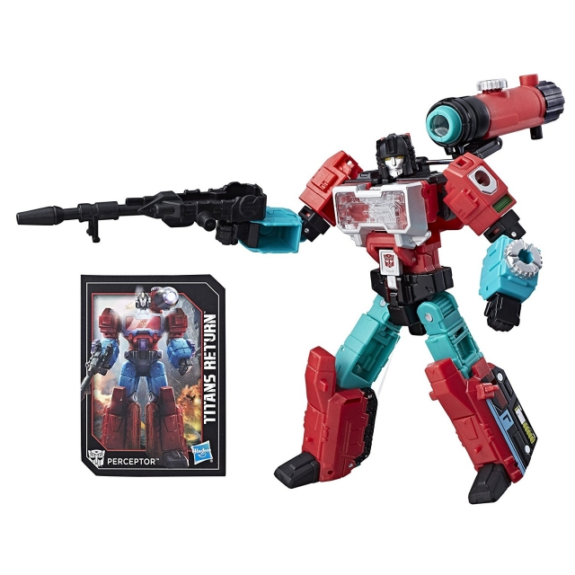 Deluxe Perceptor and Convex | Transformers Titans Return
