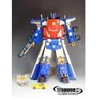 Armada - Super Class - Optimus Prime w/ Sparkplug - Loose - 100% Complete