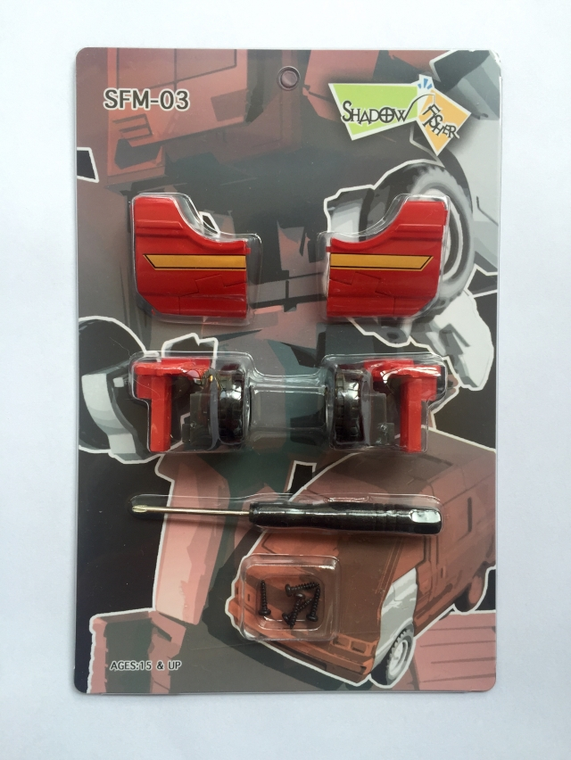 Shadow Fisher - SFM03 Upgrade kit for MP27 Masterpiece Ironhide