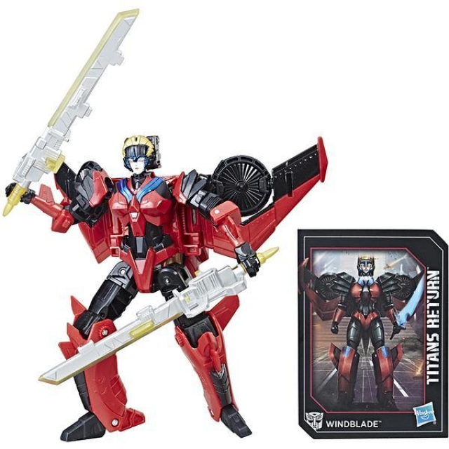 Deluxe Windblade and Scorchfire | Transformers Titans Return