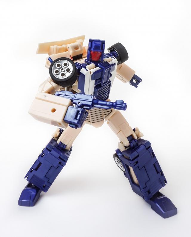 X-Transbots - Monolith Combiner - MX-XIII Crackup - MIB
