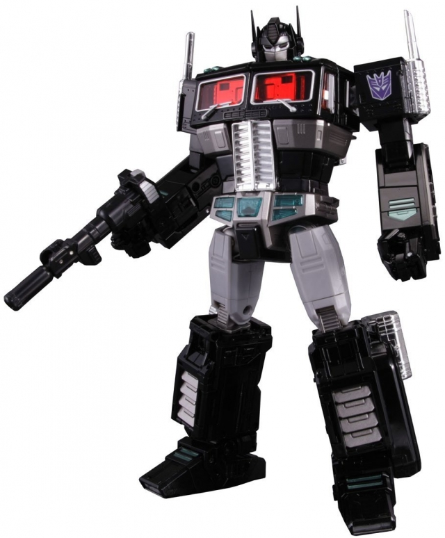 MP-10B - Masterpiece Black Convoy - w/ Collectors Coin